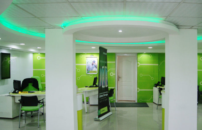 STORE FIT-OUT FOR GLOBACOM LIMITED